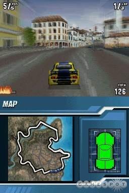 Burnout Legends NDS Screenshot 3
